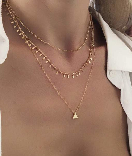 collier multirang original