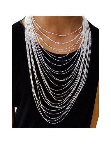 collier multirang sautoir