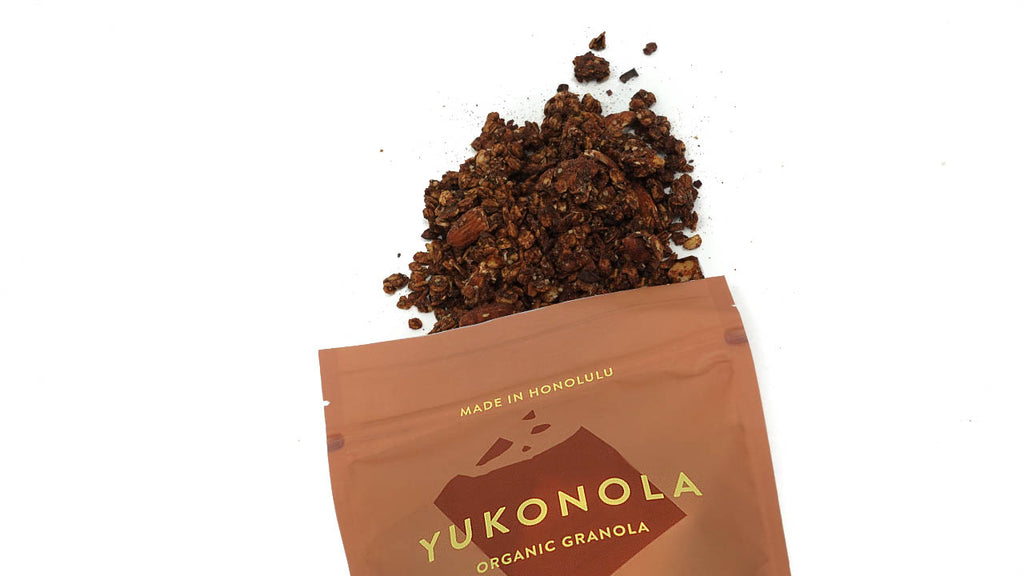 Organic Superfood Cha Cha Chocolate Granola made in Honolulu
