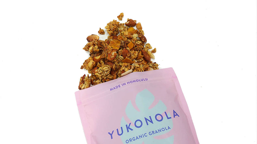 Organic Superfood Tropical Paradise Granola made in Honolulu