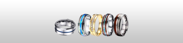 Men's Fashion Rings and How to Take Care of Them