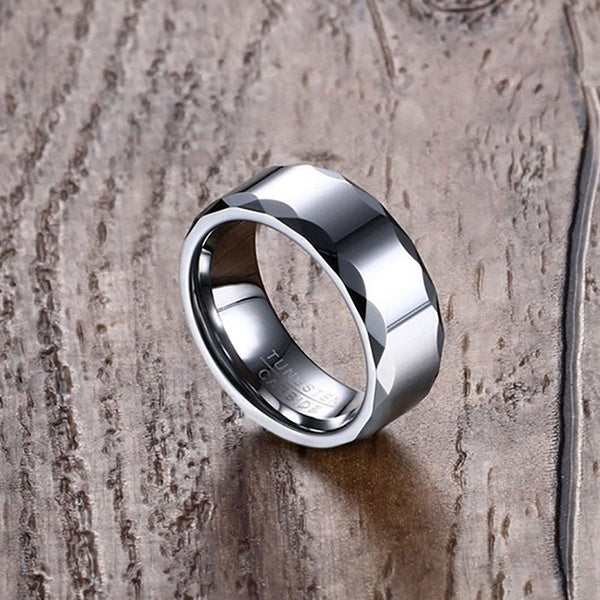 tungsten, Corfu - Mens Rings and Wedding Bands by Lox and Lasso™️