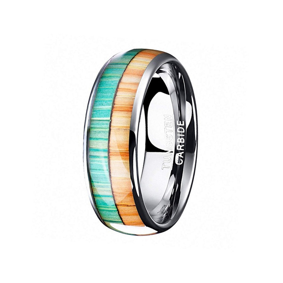 tungsten, Corinth Canal - Mens Rings and Wedding Bands by Lox and Lasso™️