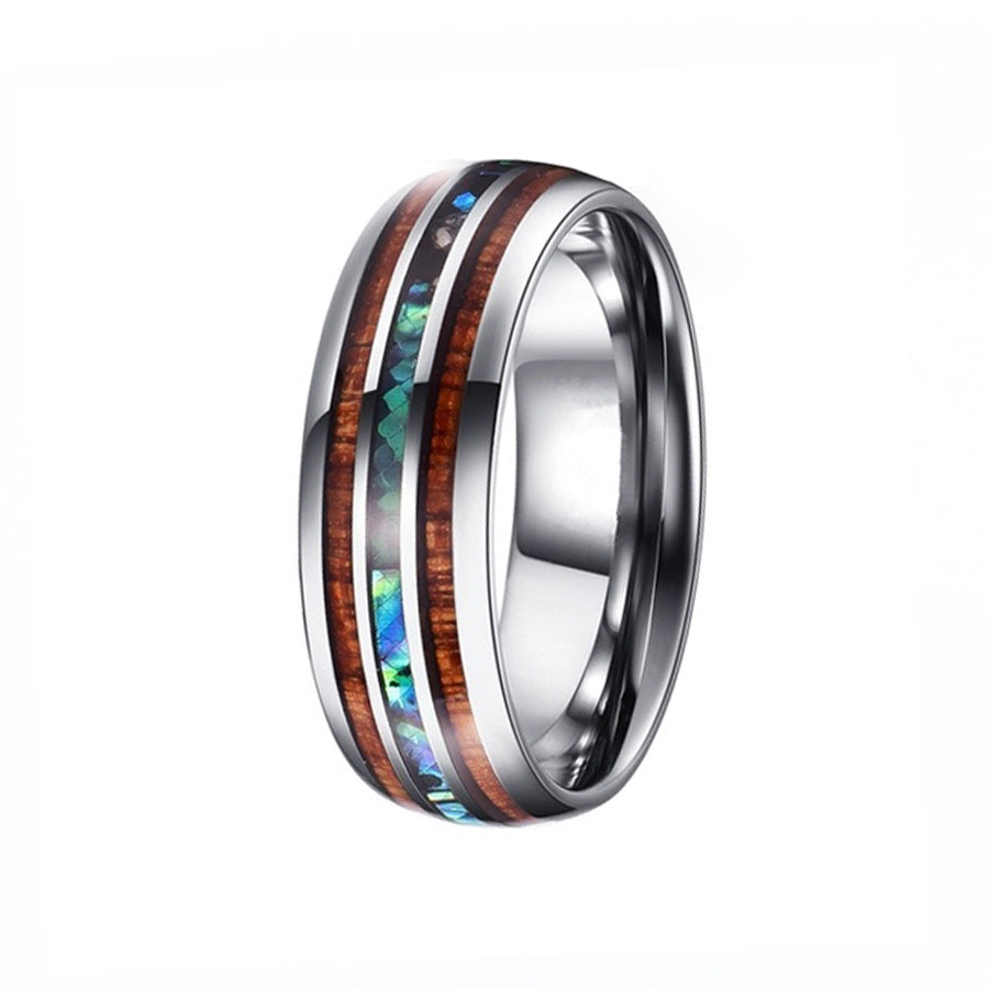 tungsten, Congo River - Mens Rings and Wedding Bands by Lox and Lasso™️