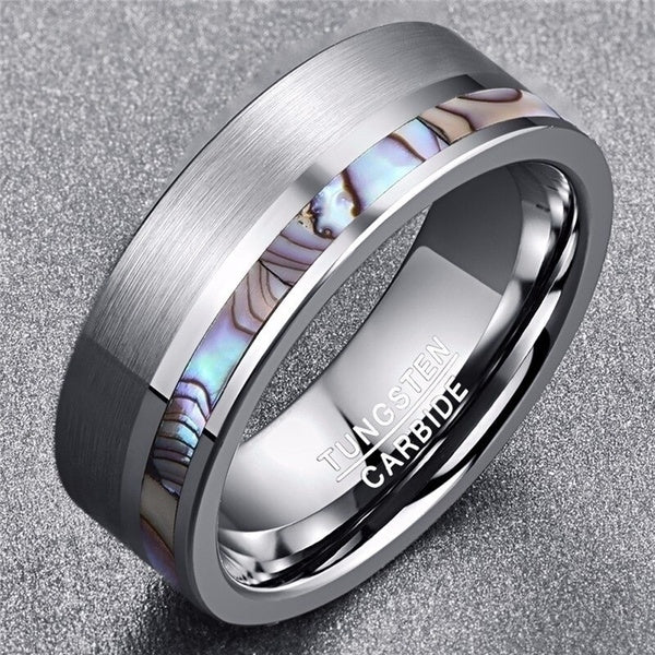 tungsten, Milos - Mens Rings and Wedding Bands by Lox and Lasso™️