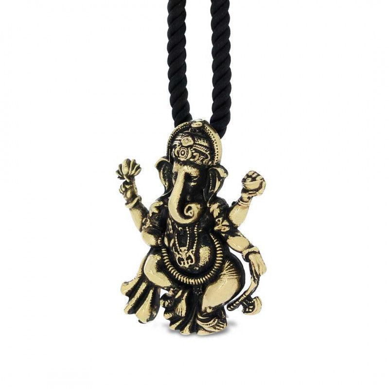 Pendants, Silver Ganesha Pendant - Mens Rings and Wedding Bands by Lox and Lasso™️