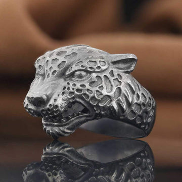 rings, Leopard Ring - Mens Rings and Wedding Bands by Lox and Lasso™️