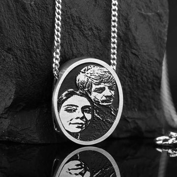 Pendants, Love Photo Pendant - Mens Rings and Wedding Bands by Lox and Lasso™️