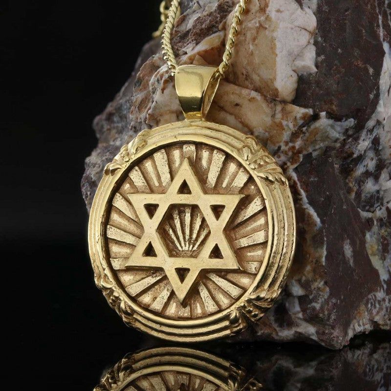 Pendants, Magen David Pendant - Mens Rings and Wedding Bands by Lox and Lasso™️