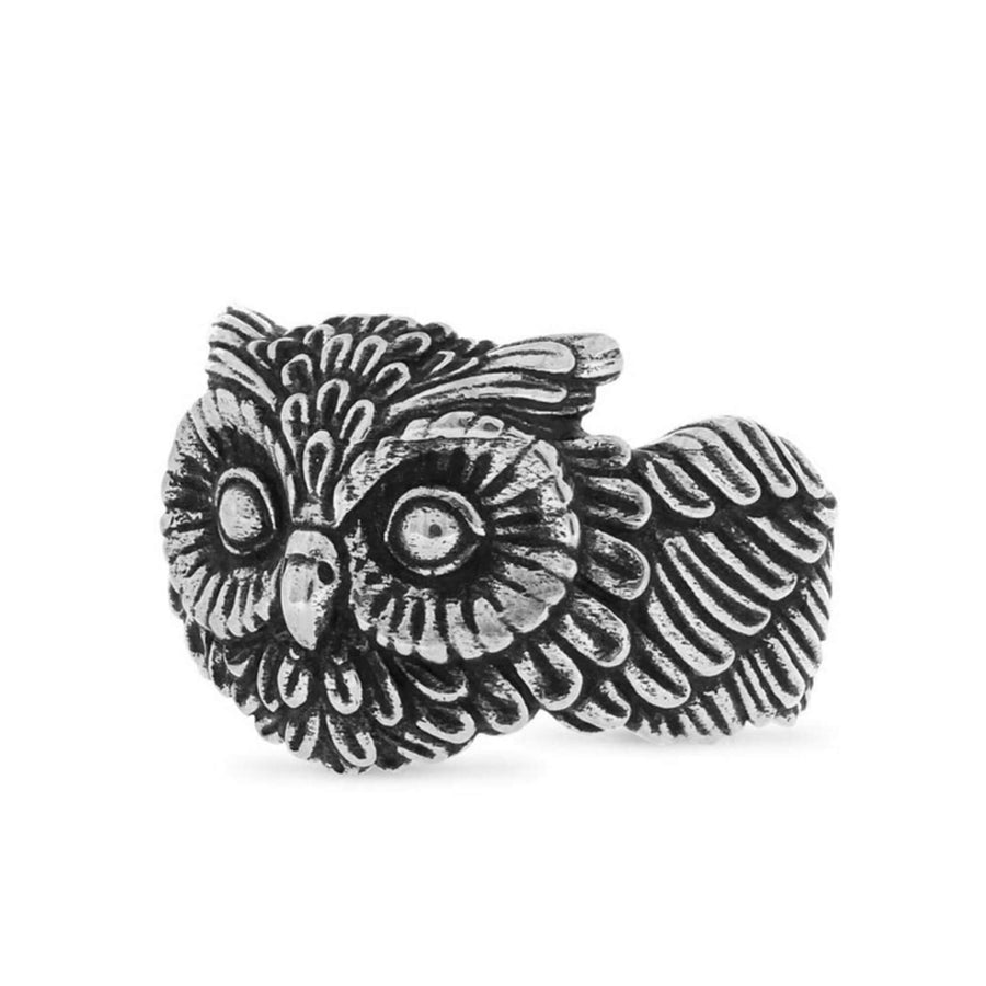 rings, Owl Ring - Mens Rings and Wedding Bands by Lox and Lasso™️
