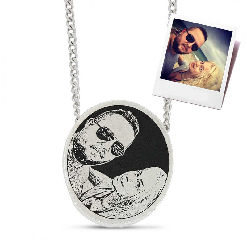 Pendants, Photo Love Pendant - Mens Rings and Wedding Bands by Lox and Lasso™️
