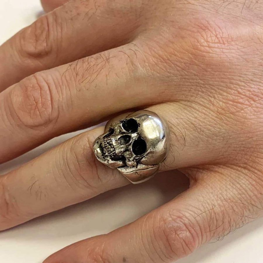 rings, Gothic Skull Ring - Mens Rings and Wedding Bands by Lox and Lasso™️