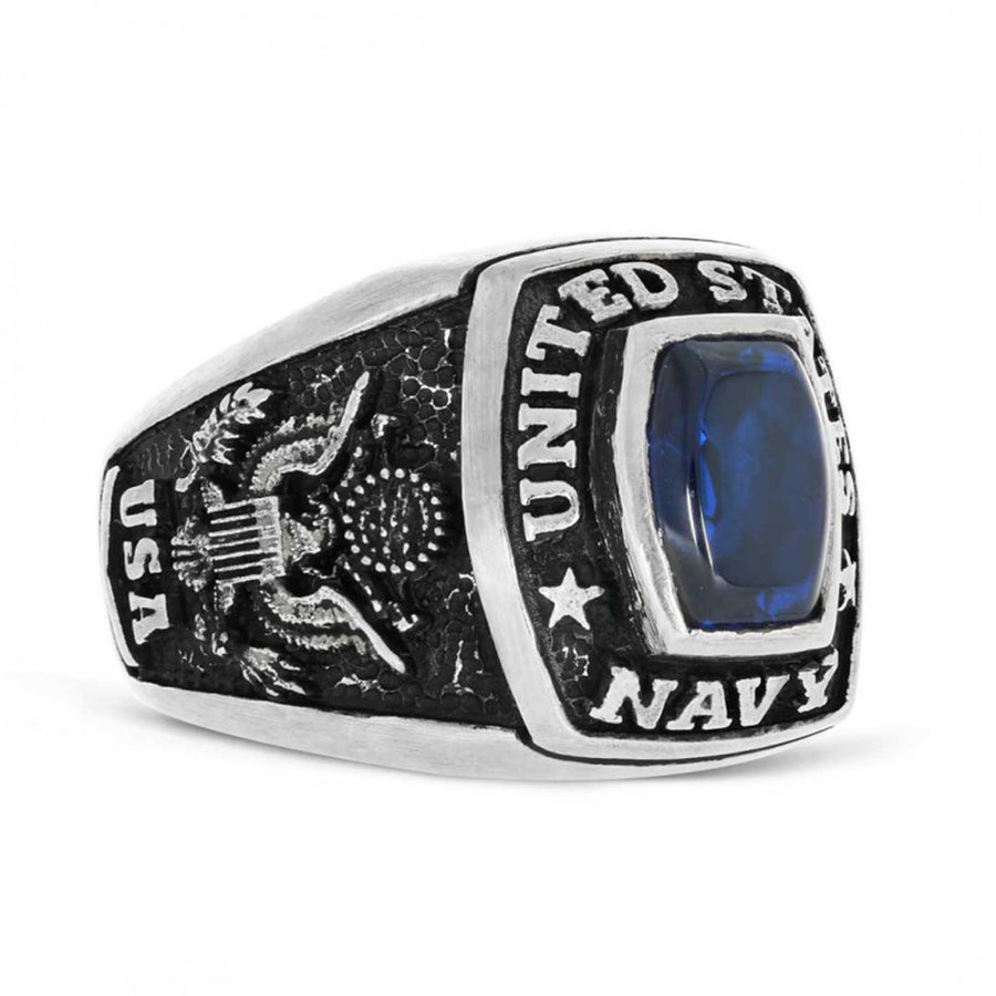 United States Navy Ring - Mens Rings and Wedding Bands by Lox and Lasso™️