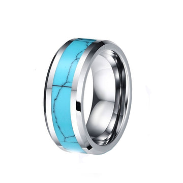 titanium, Horseshoe Canyon - Mens Rings and Wedding Bands by Lox and Lasso™️