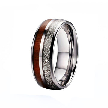 tungsten, Portofino - Mens Rings and Wedding Bands by Lox and Lasso™️