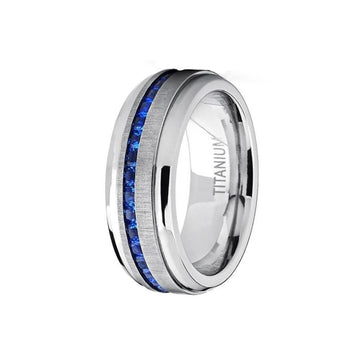 titanium, Newport - Mens Rings and Wedding Bands by Lox and Lasso™️