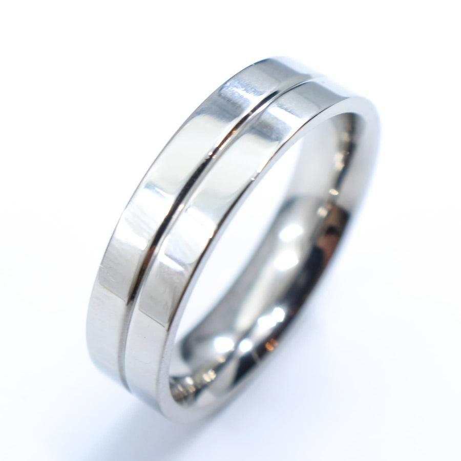 titanium, SKARDU - Mens Rings and Wedding Bands by Lox and Lasso™️