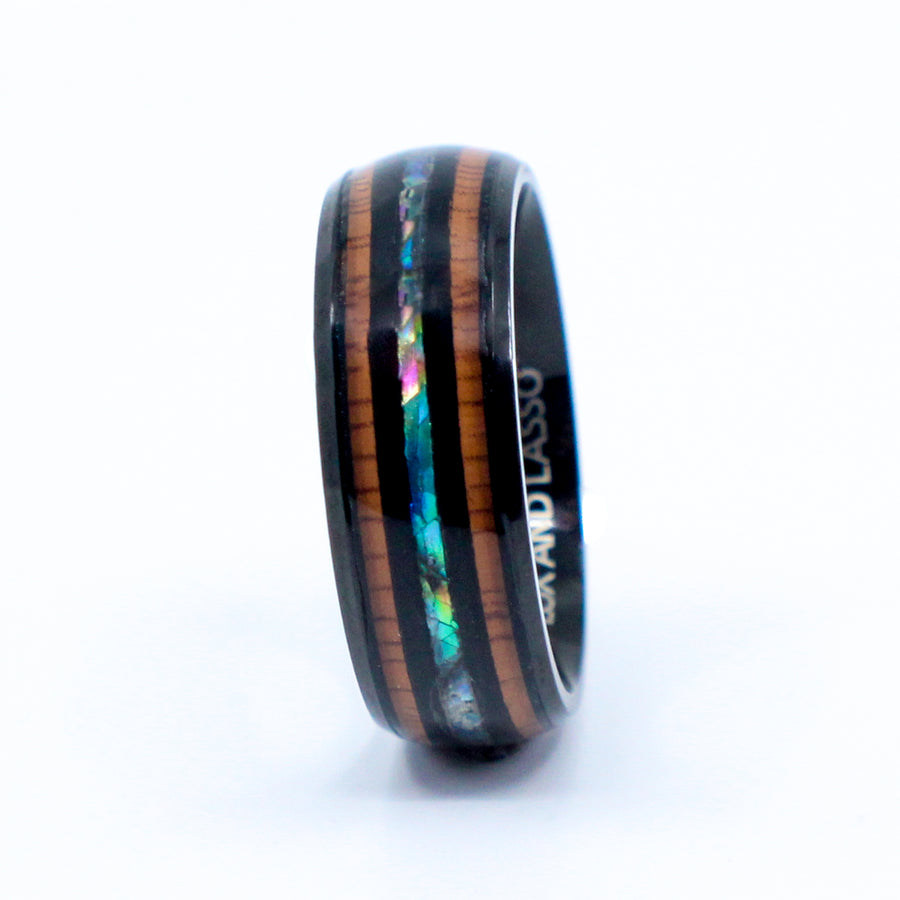 tungsten, Rivera - Mens Rings and Wedding Bands by Lox and Lasso™️
