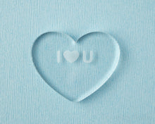 Load image into Gallery viewer, I Heart U Conversation Heart