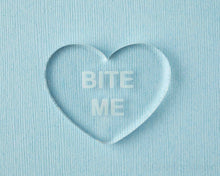 Load image into Gallery viewer, Bite Me Conversation Heart