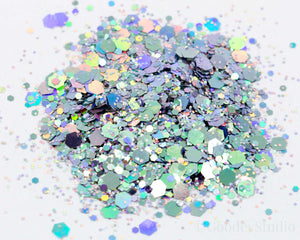 Disco Robot Chunky Color Shift Glitter