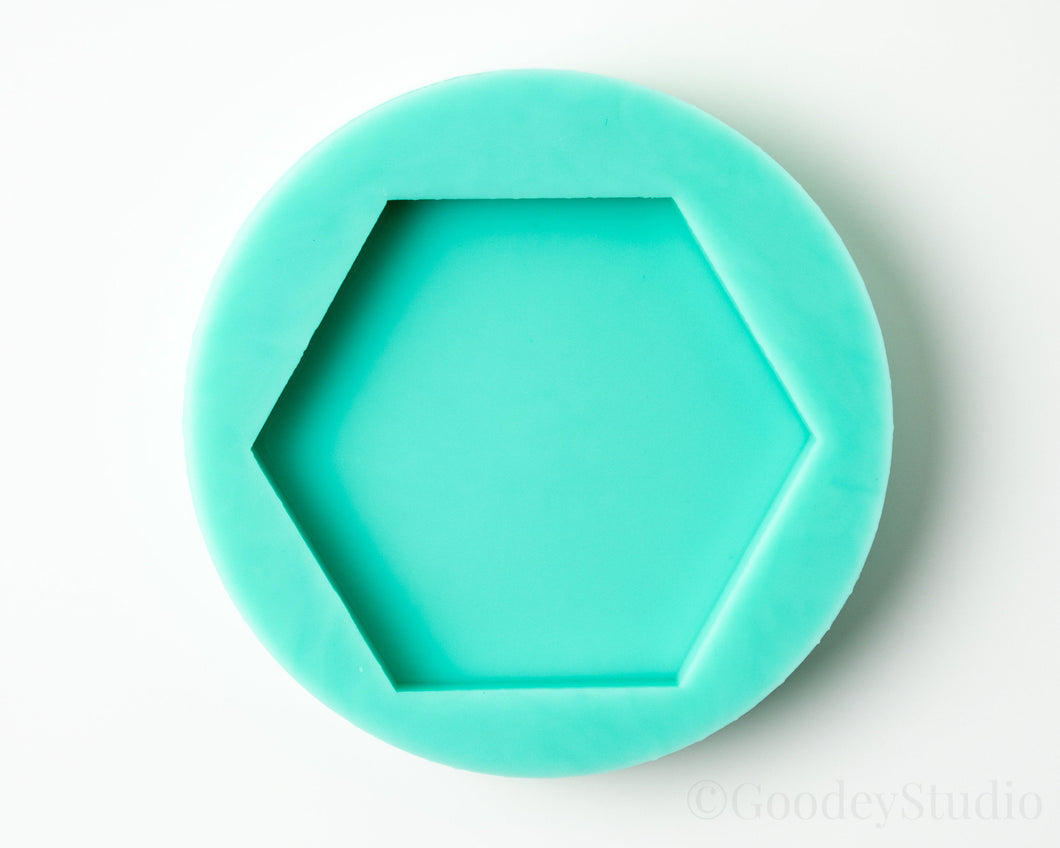 Plain Hexagon Shape Mold