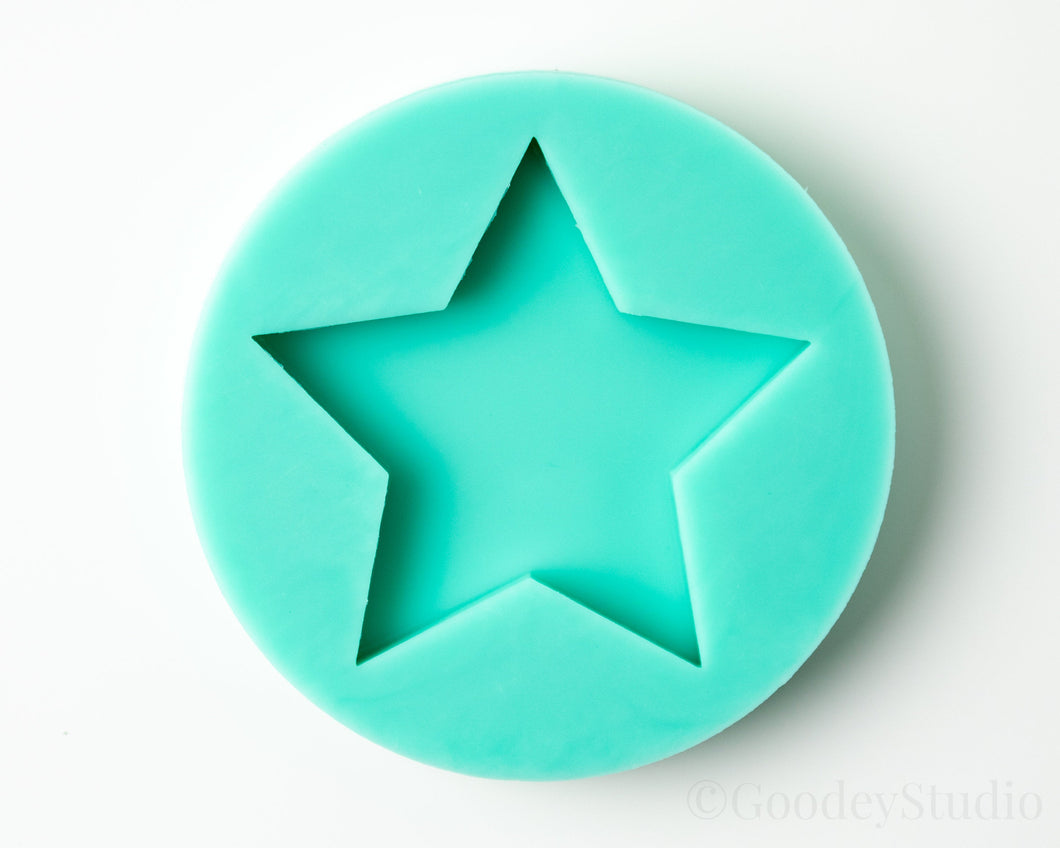 B Grade Plain Star Shape Mold