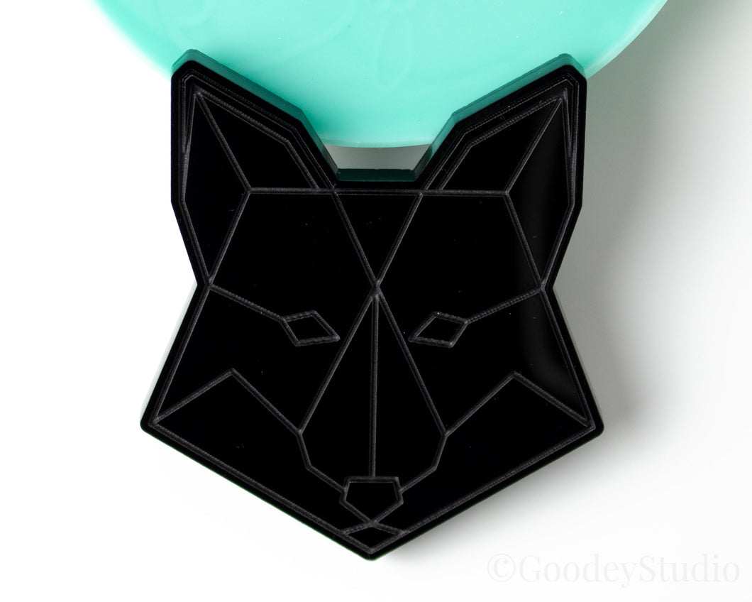 Geometric Fox Head Mold