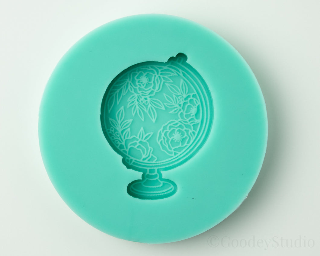 Floral World Globe Mold