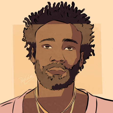 Childish Portrait - Canvas