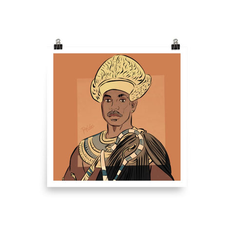 Eddie the Pharaoh - Matte Poster