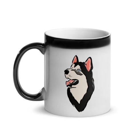 Husky Magic Mug
