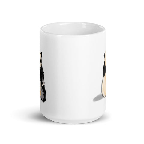 Comfortable Panda Coffee Mug