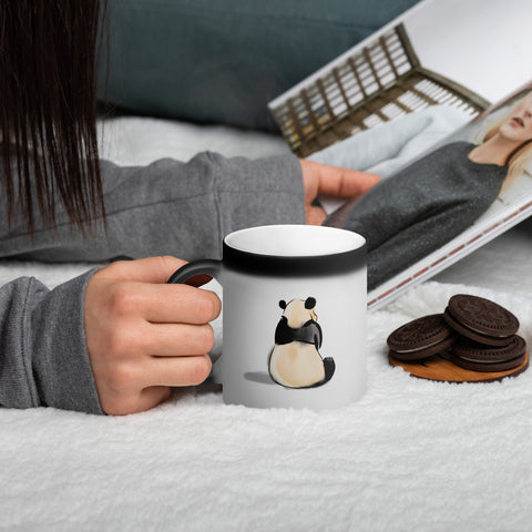 Comfortable Panda Magic Mug