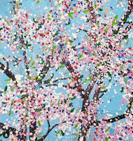 Damian Hirst Cherry Blossoms