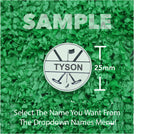 "Golf Markers Men's Names Letter ""T"""