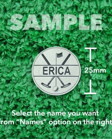"Golf Markers Ladies Names Letter ""E"""