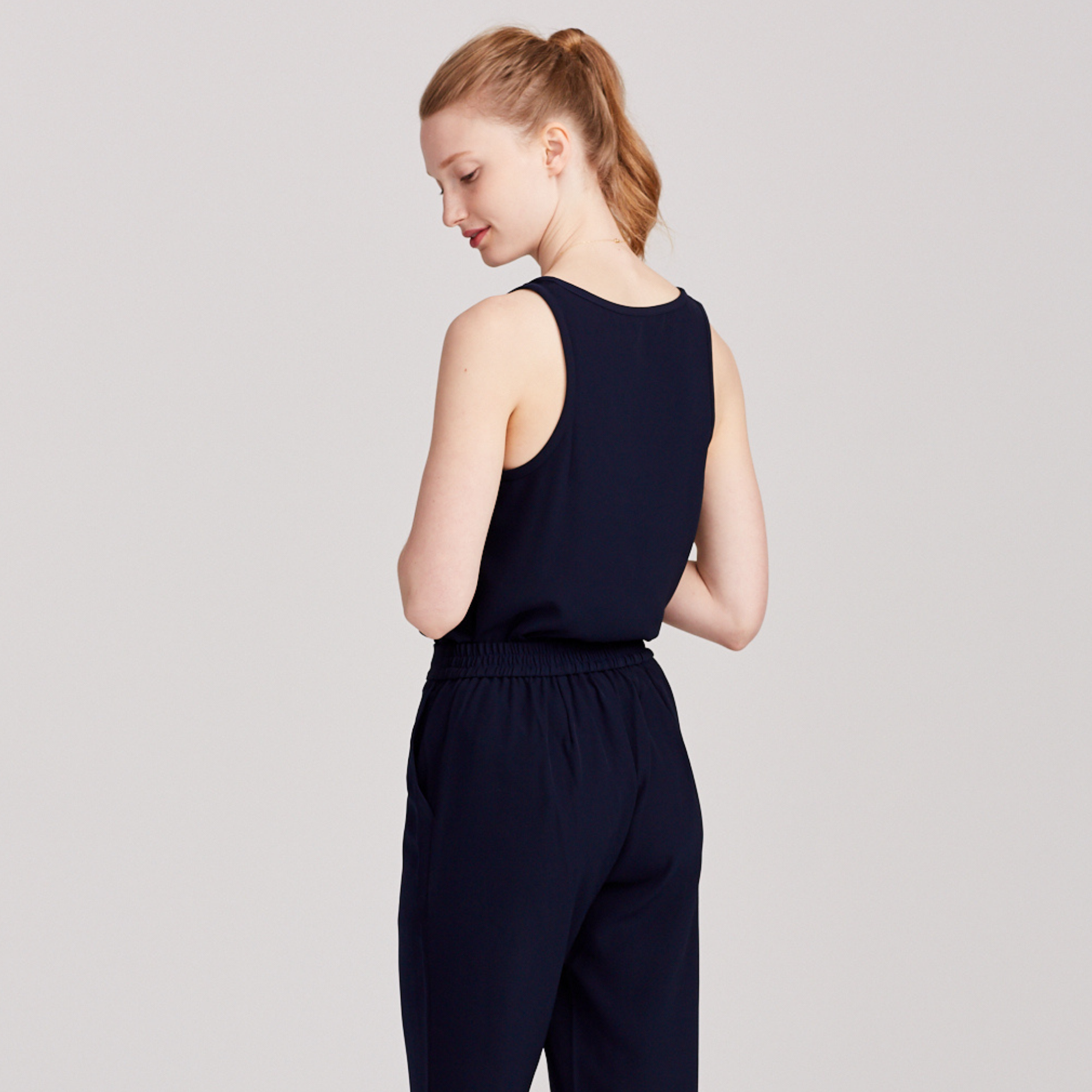 THE ALL-DAY PANT | NAVY - SALE