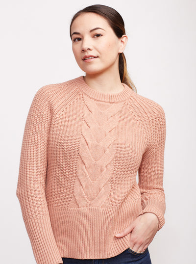 THE CABLE KNIT SWEATER - SALE