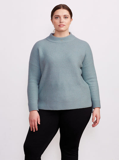 THE EVERYDAY SWEATER | Eucalyptus & Snow