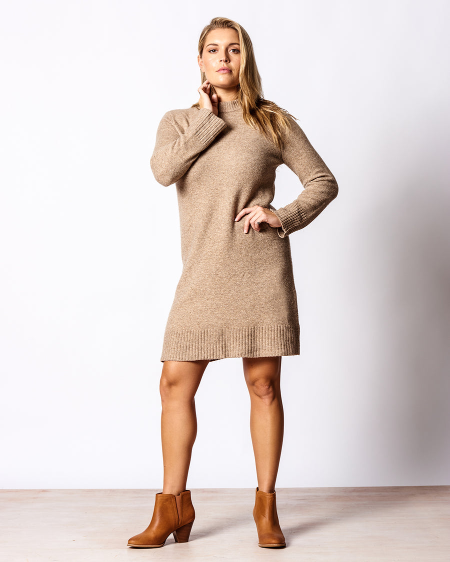 THE RELAXED SWEATER DRESS