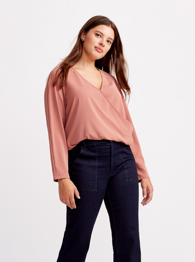 THE CROSSOVER BLOUSE 2.0