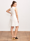 THE SLEEVELESS SHEATH | WHITE