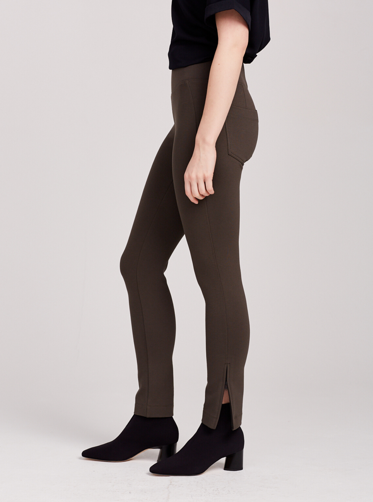 THE ZIP PONTE PANT - SALE