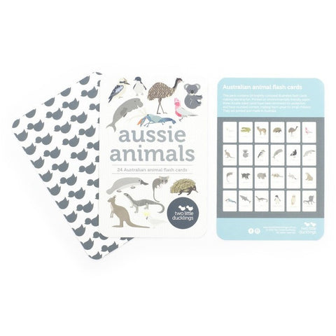Two little Ducklings - Flash Cards Aussie Animals
