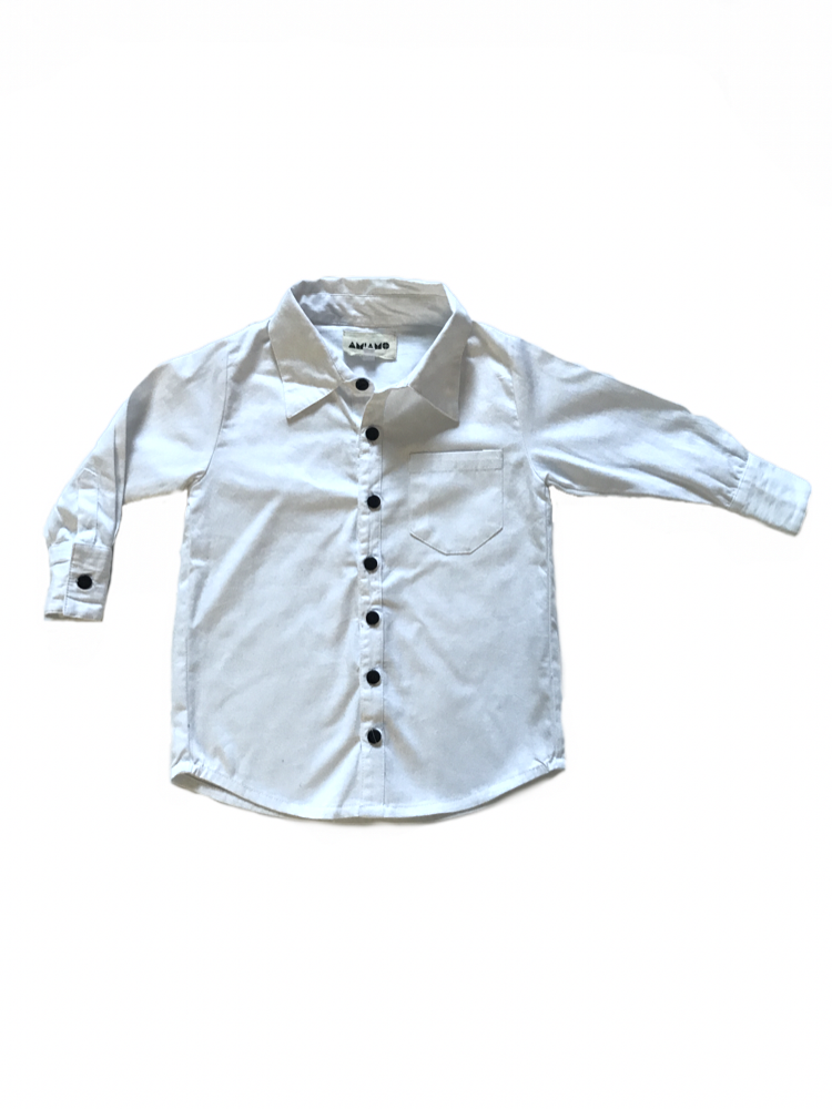 B-up Shirt White