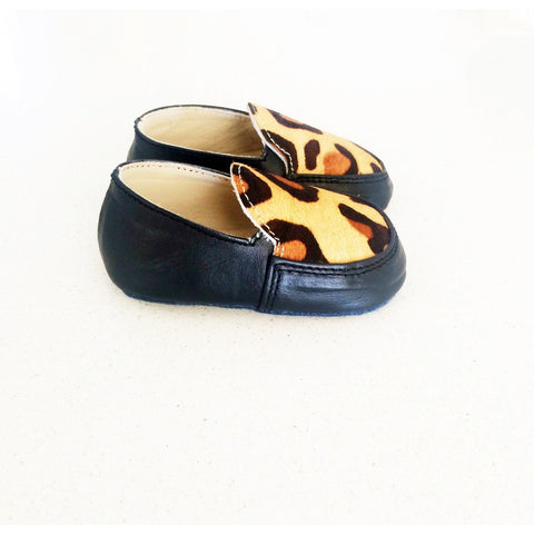 Love Mummahh - Leopard Loafers Black