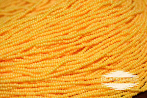 11/0 OP Butterscotch Luster | Seed Beads