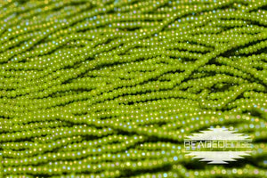 11/0 OP Olive AB | Seed Beads