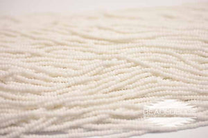 11/0 OP White | Seed Beads